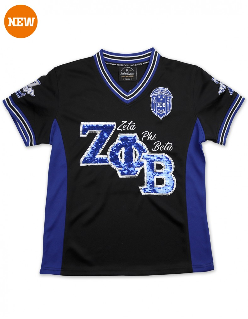 Zeta Phi Beta Apparel - Football jersey