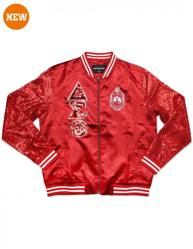 Delta Sigma Theta Apparel Sequins Jacket
