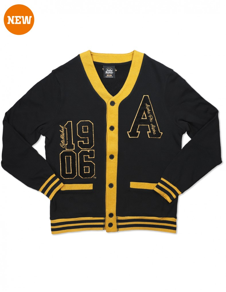 Alpha Phi Alpha apparel lightweight cardigan