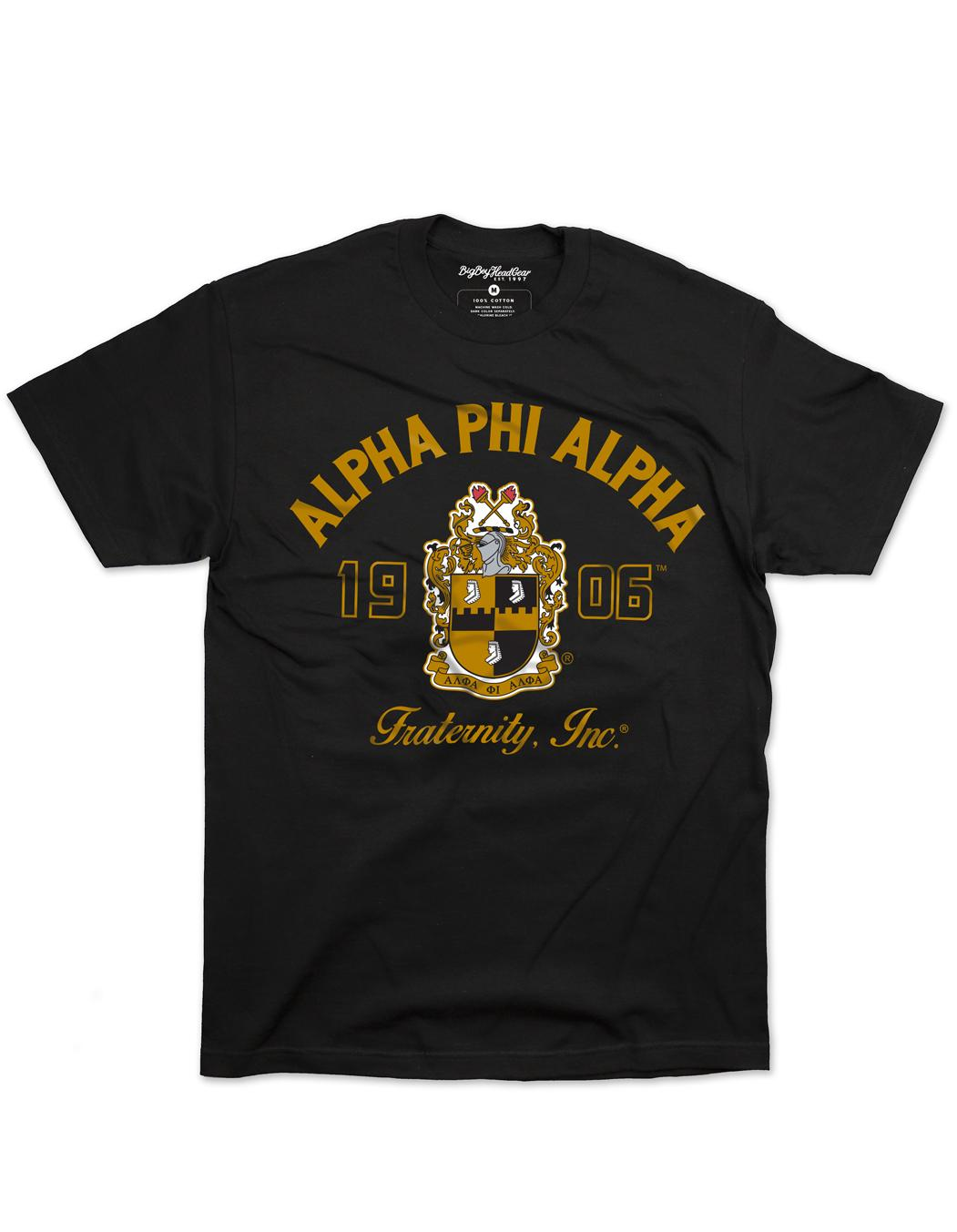 Alpha Phi Alpha apparel Graphic T Shirt
