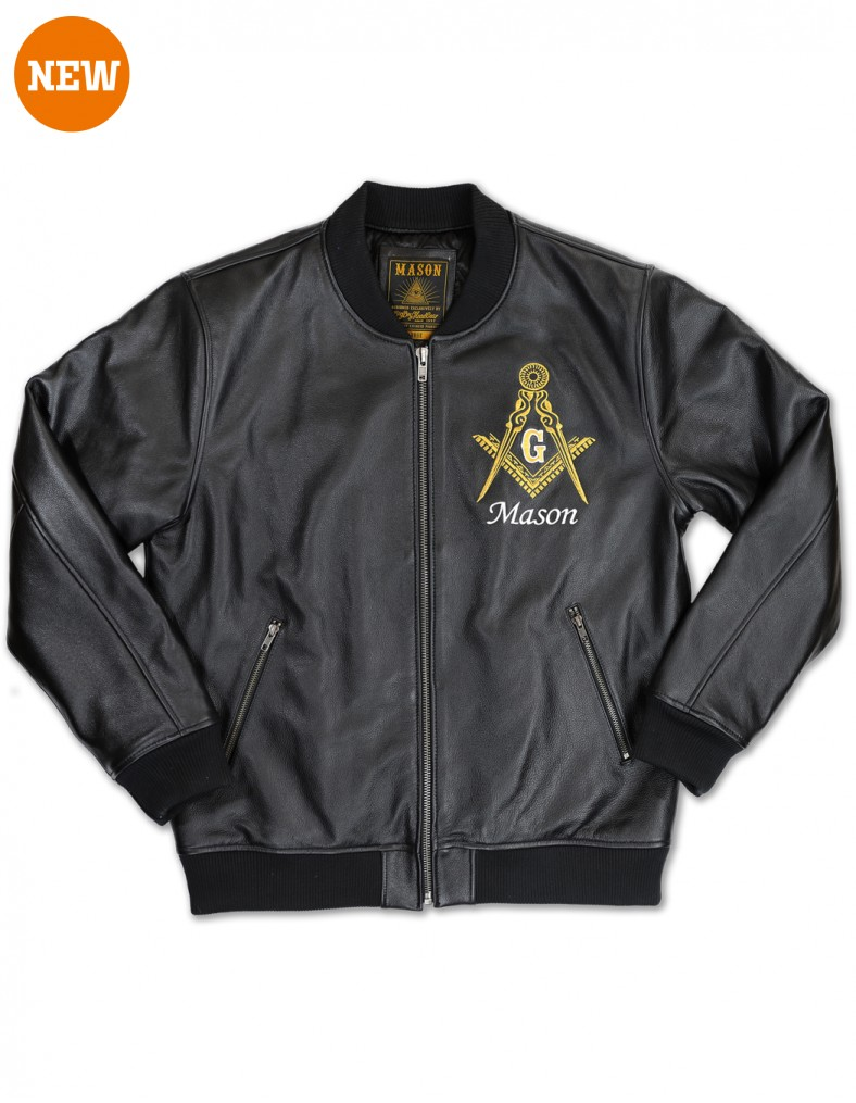 Freemason apparel leather jacket