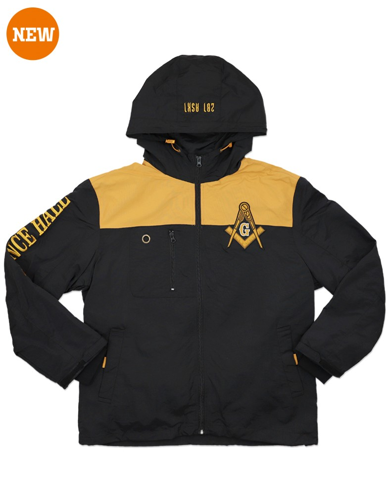 Freemason Apparel Prince Hall Windbreaker