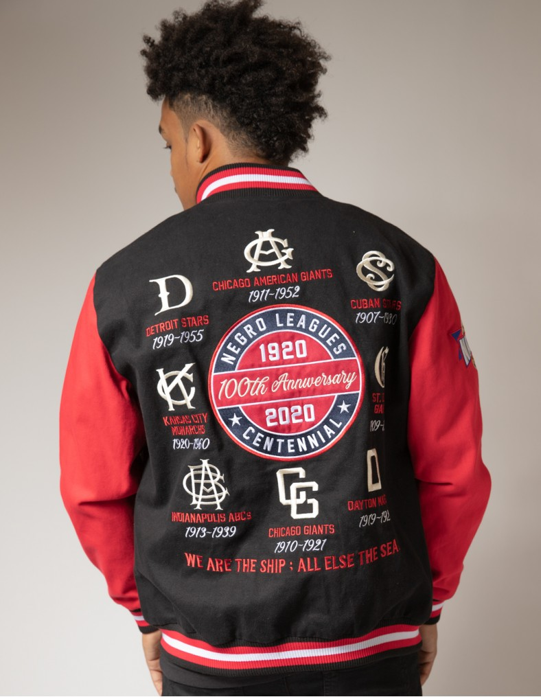 100th Anniversary Negro League Baseball Twill Jacket