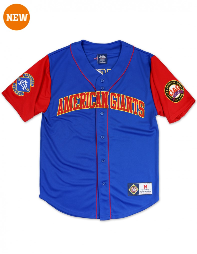 Chicago American Giants Baseball Jersey