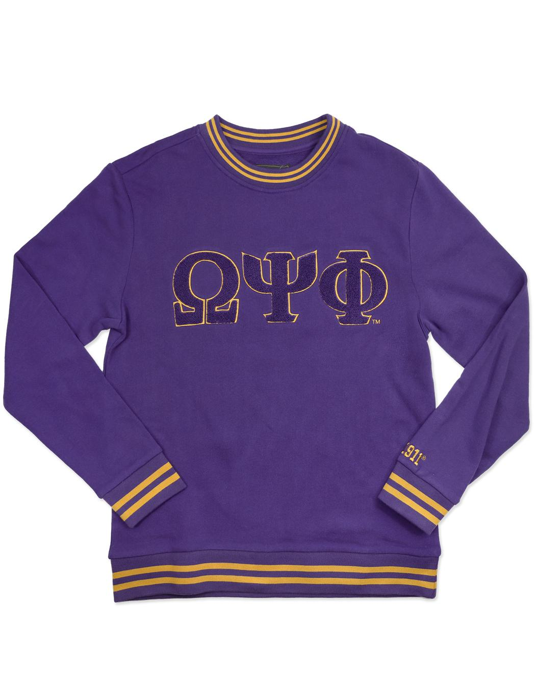 Omega Psi Phi apparel Sweat shirt