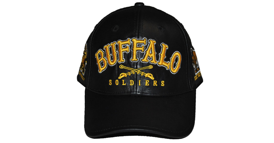 Buffalo Soldiers Leather cap #2