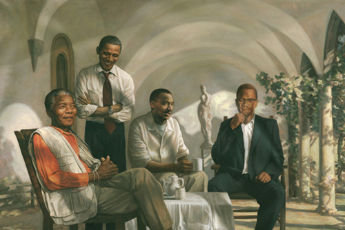 Black Heroes - Black Historical Art
