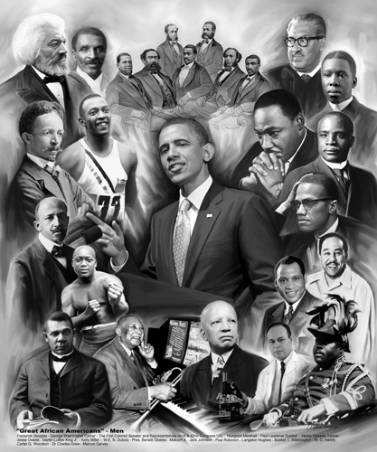 Great African Americans: Men