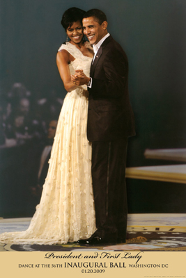 Black Art President Barack Obama & 1st Lady Dance at the 56th In