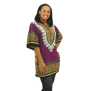 Dashiki Purple African