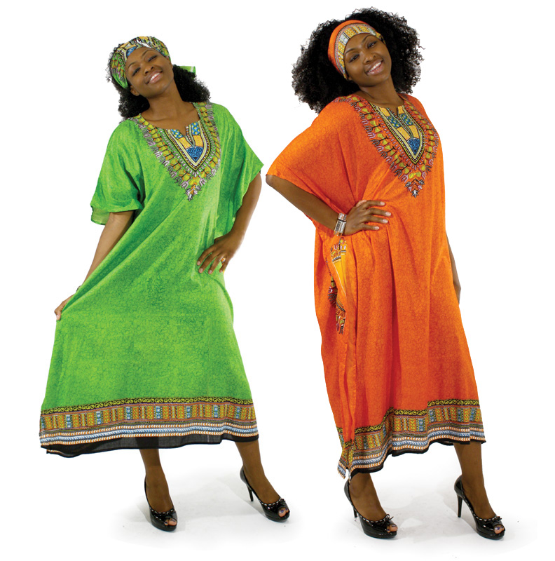 """African Kaftan-Traditional Print Kaftan-Assorted Colors'"