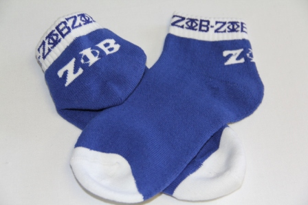 Zeta Phi Beta Apparel-socks Bootie