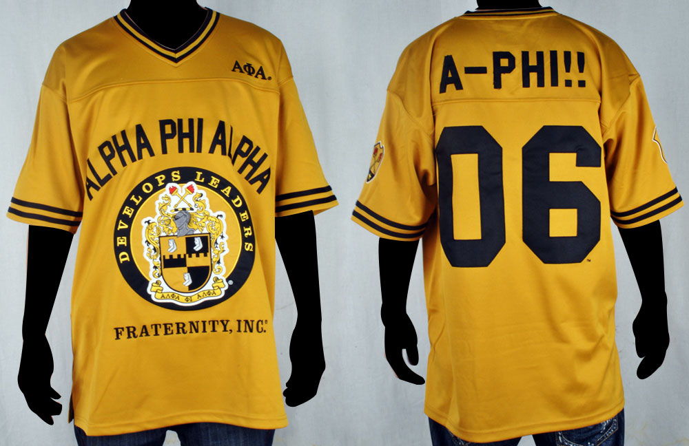 Alpha Phi Alpha apparel-Football Jersey