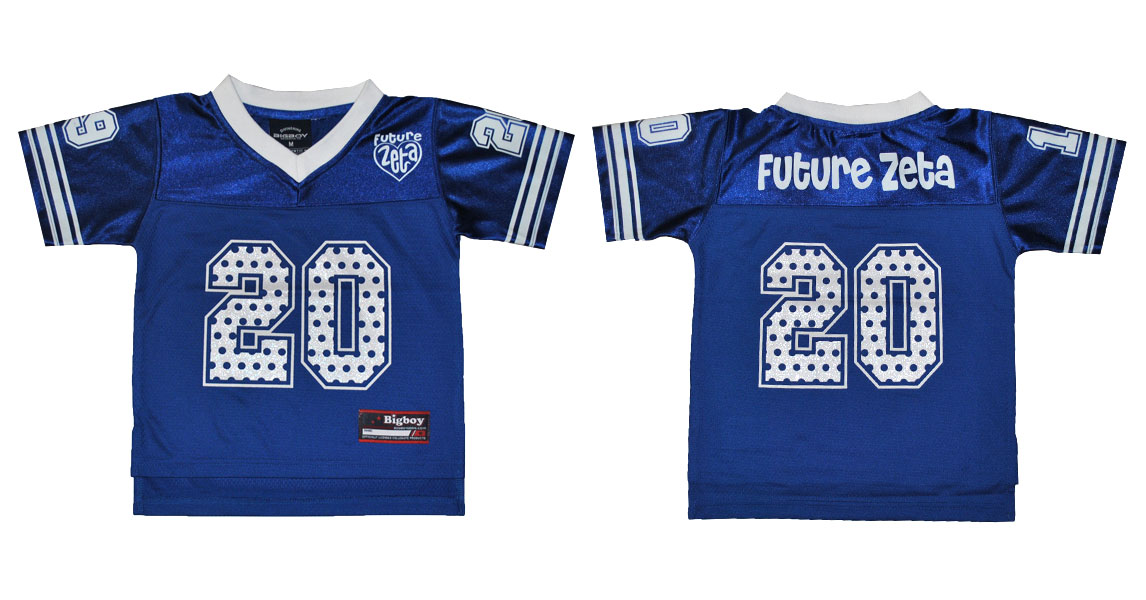 Zeta Phi Beta Apparel - Kid Football Jersey
