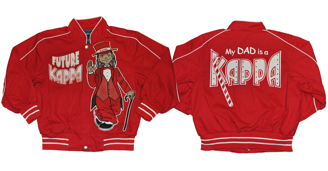 Kappa Alpha Psi apparel jacket kids Jacket