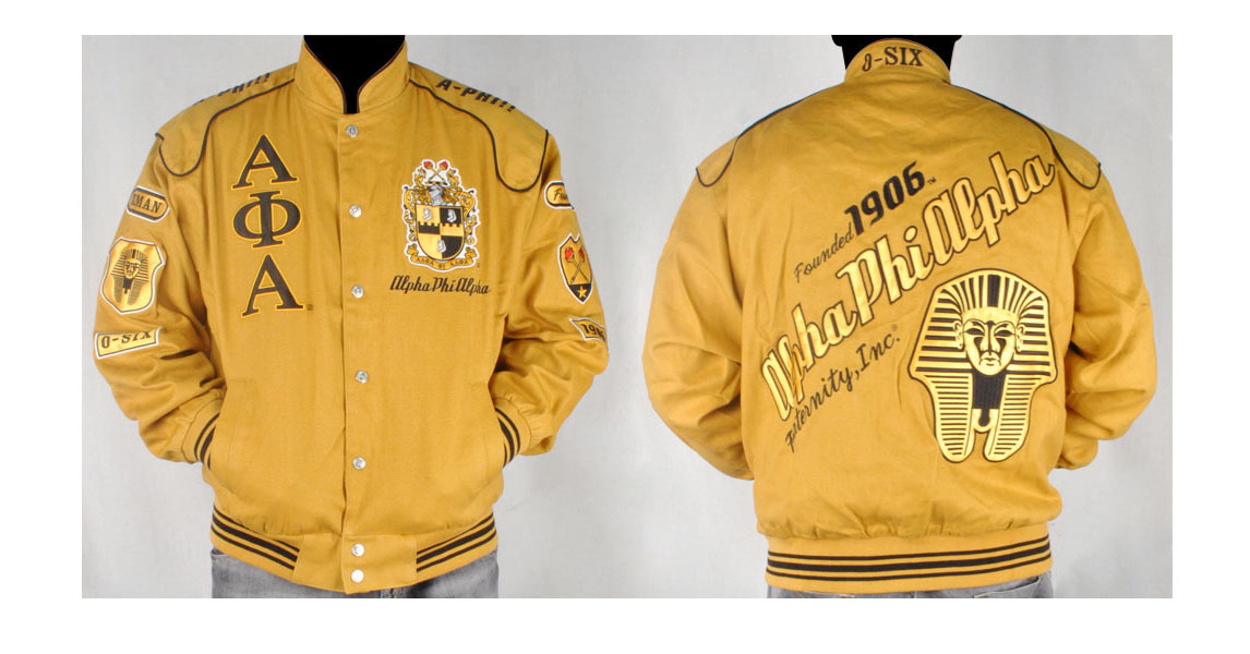 Alpha Phi Alpha apparel-Racing Jacket