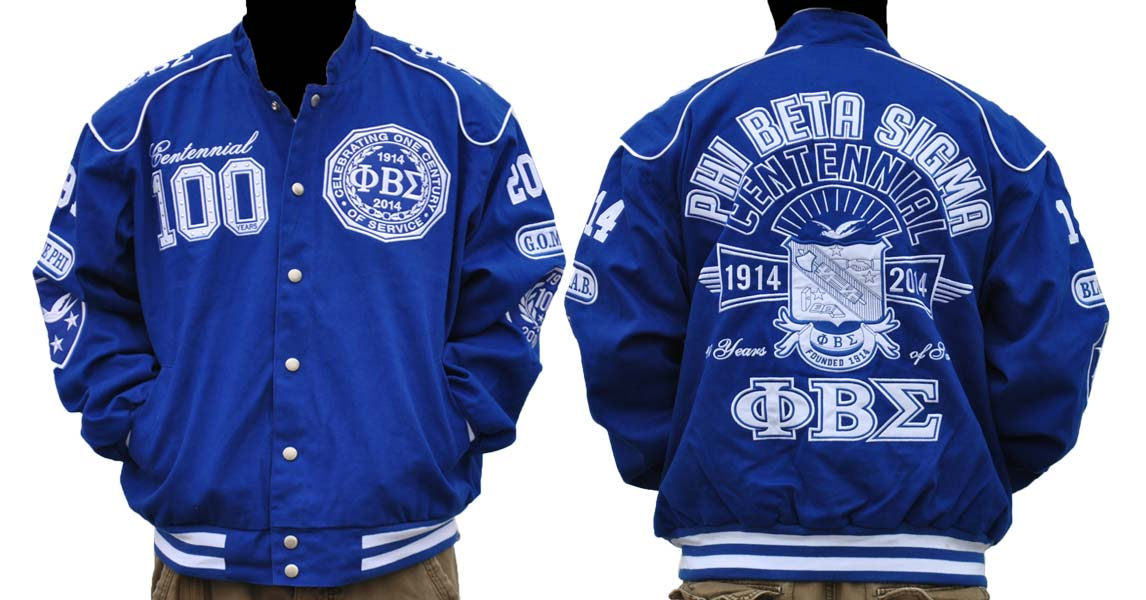 Phi Beta Sigma apparel-Centennial Jacket