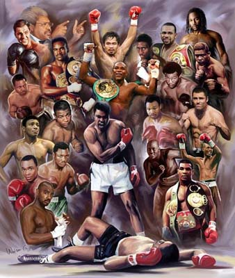 Boxing Greats: Champions #1
