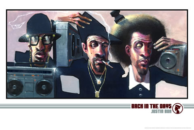Back in the Days - Art print