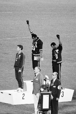 Black Power Olympic Medalists; Mexico City; 1968