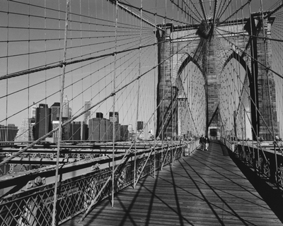 Across Brooklyn Bridge