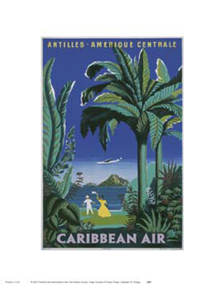 Caribbean Air - Art print