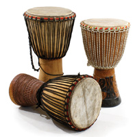 African Drums-M-M010 Djembe Drum Full Size - Senegal