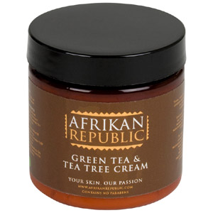 Green Tea & Tea Tree Cream : 4 oz.
