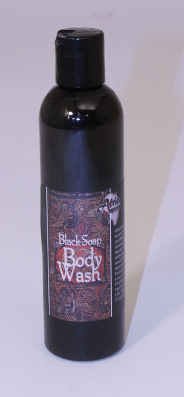 Liquid Black Soap - 8 oz.