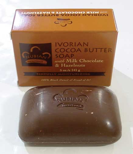 Cocoa Butter & Chocolate Soap Case 72 bars