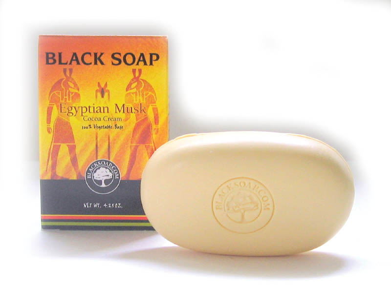 Egyptian Musk Black Soap - 4� oz.