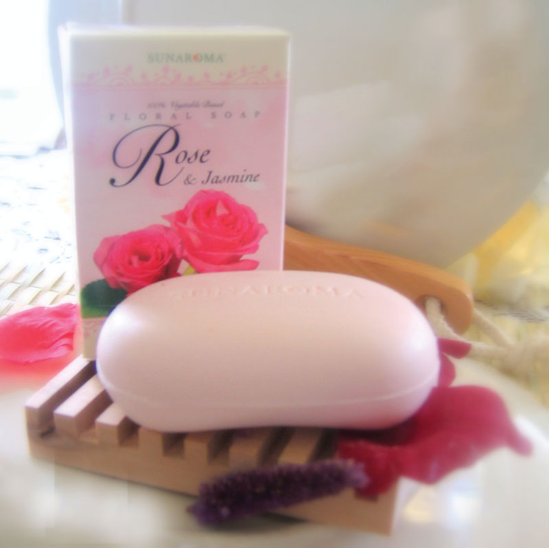 Rose & Jasmin Floral Soap - 4� oz.
