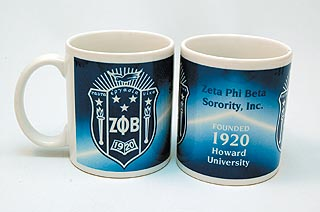 Zeta Phi Beta merchandise - Coffee Mug