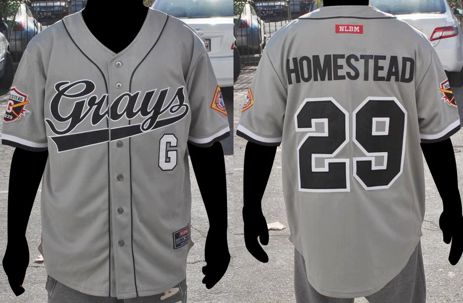 Homestead Grays Baseball Jersey
