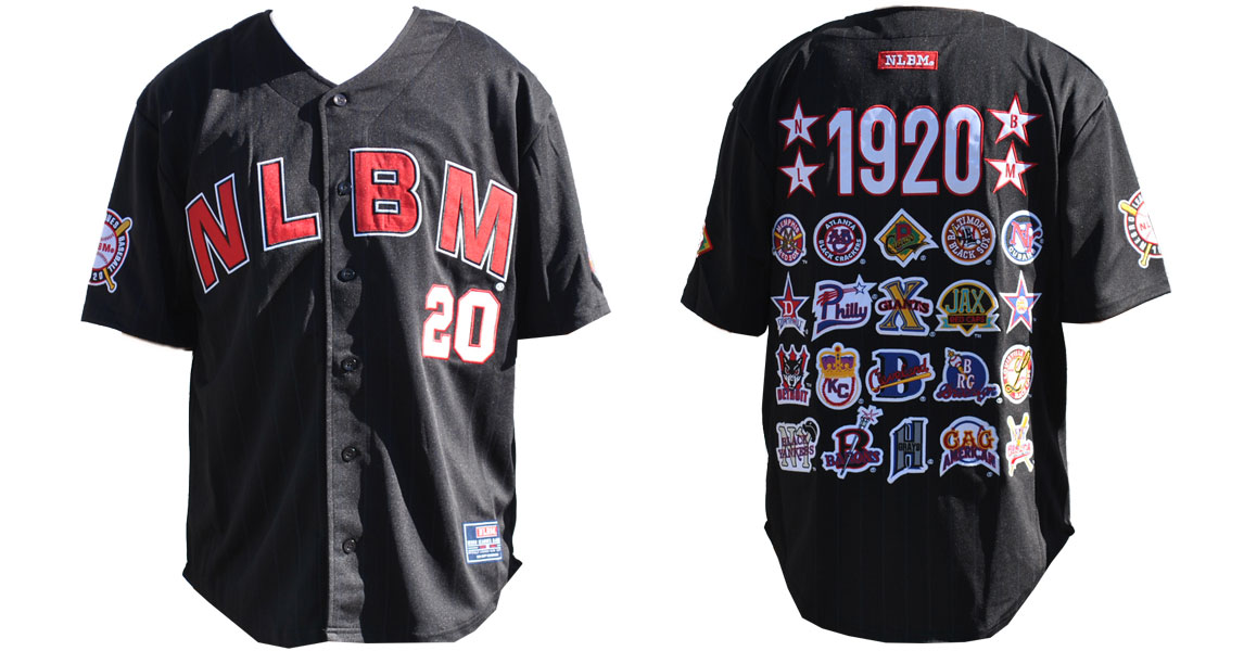 Negro League Commemorative Baseball Jersey BLK
