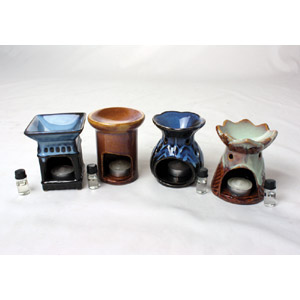 Porcelain Oil Burner-Assorted
