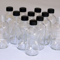 4oz. Boston Round Bottles - Set of 12