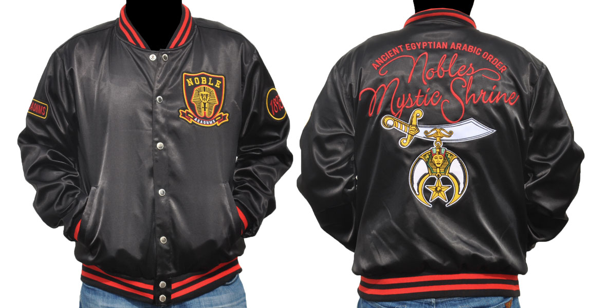 Shriner Satin Jacket