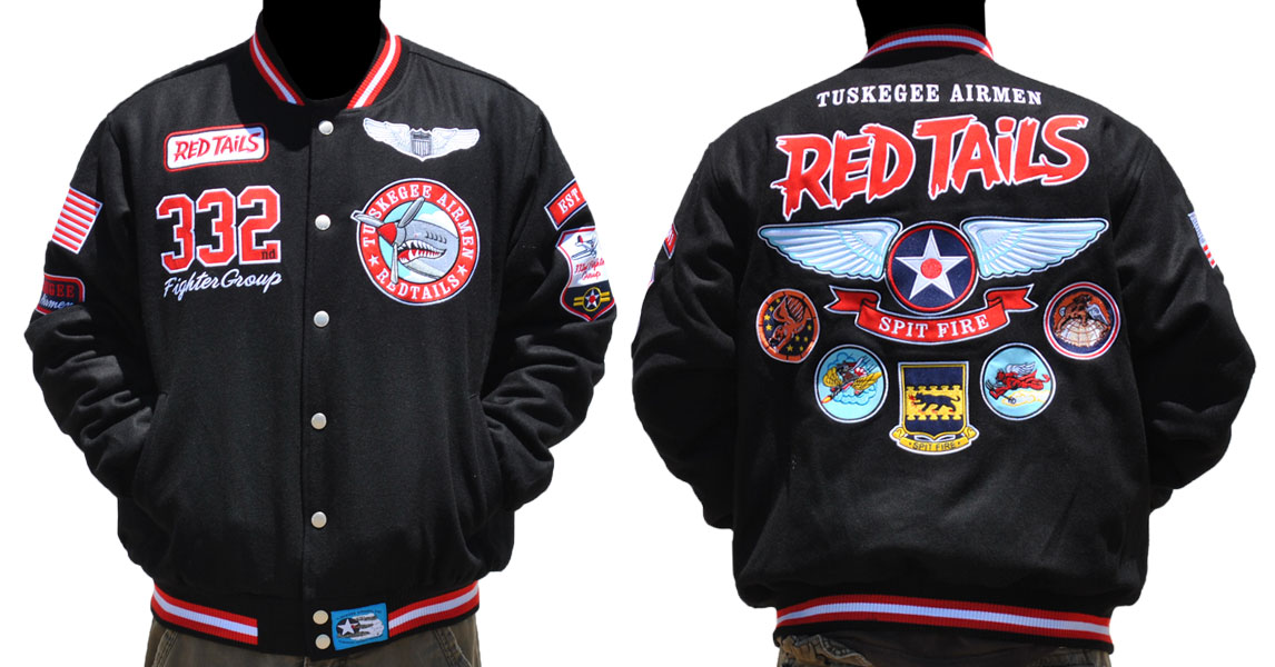 Tuskegee Airmen apparel - Wool Jacket