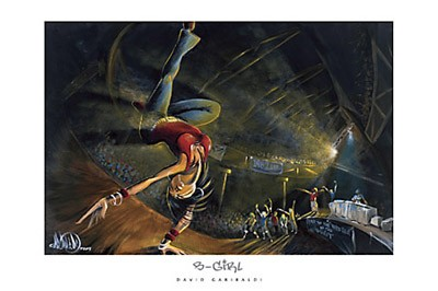 B-Girl by David Garibaldi - Art print
