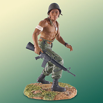 United We Stand Army - Thomas Blackshear -  figurine