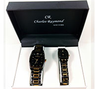His And Her Watch Gift Set-V09985-GO