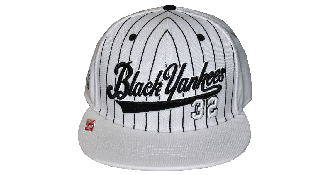 Black Yankees Legacy Cap-white