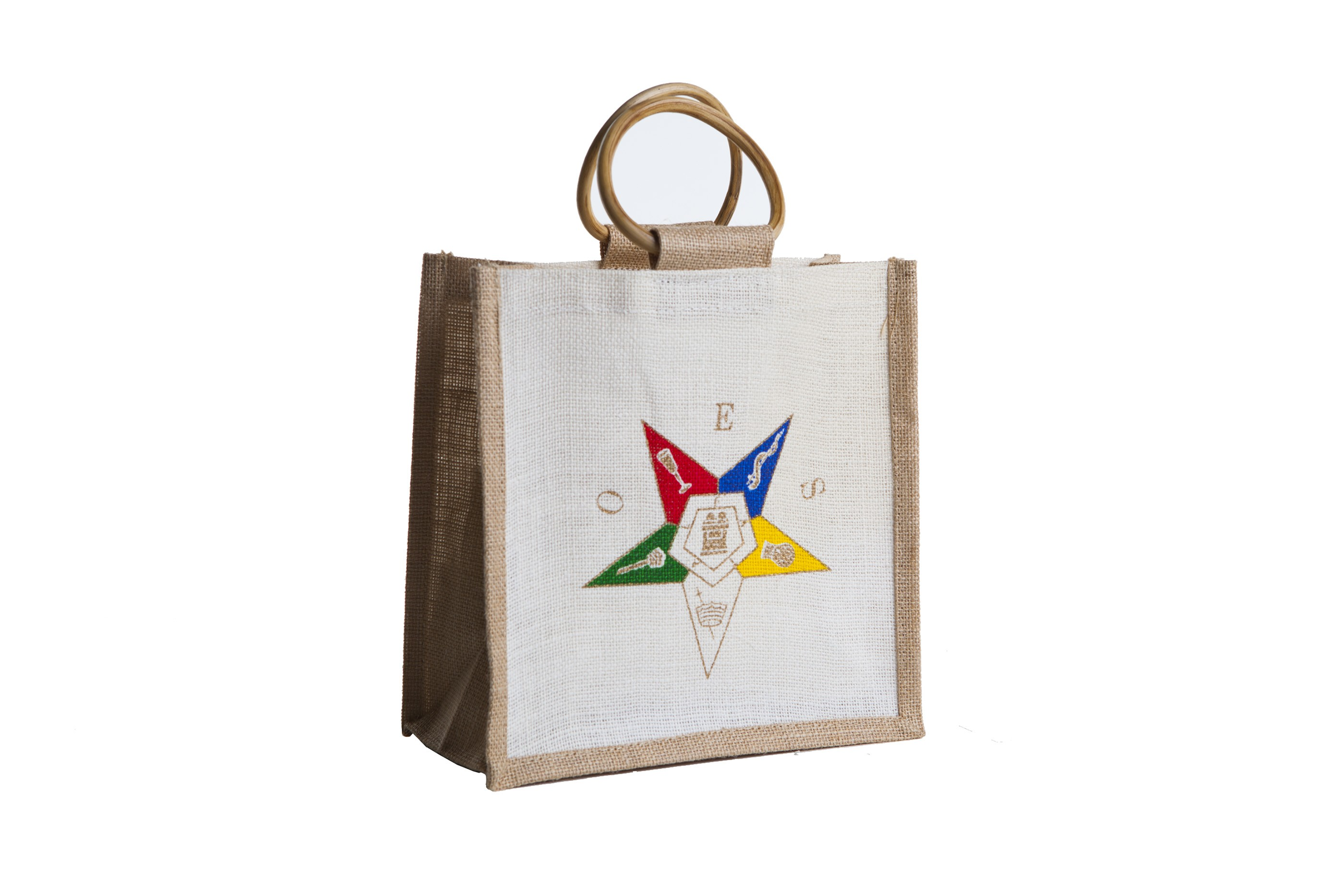 Order of The Eastern Star Bag Mini Jute