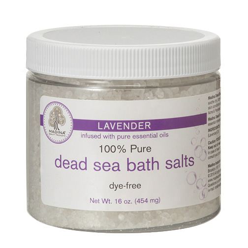 Dead Sea Salt : Lavender - 4 oz.