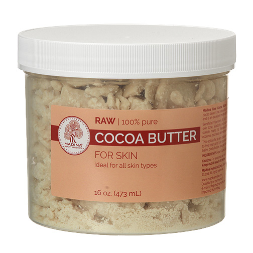 Raw Cocoa Butter - 1 lb