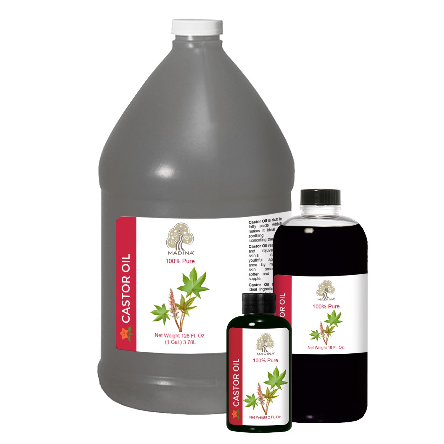 JAMAICAN BLACK CASTOR OIL - 2 oz