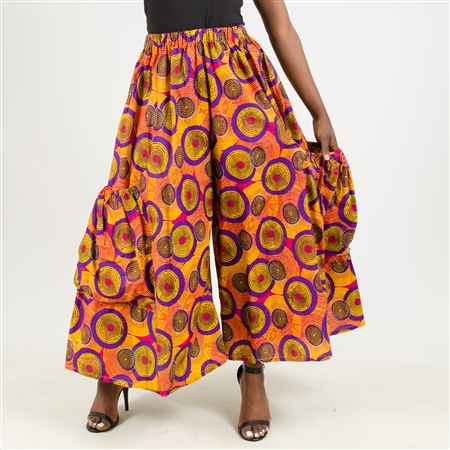 Authentic African Print Palazzo Pant