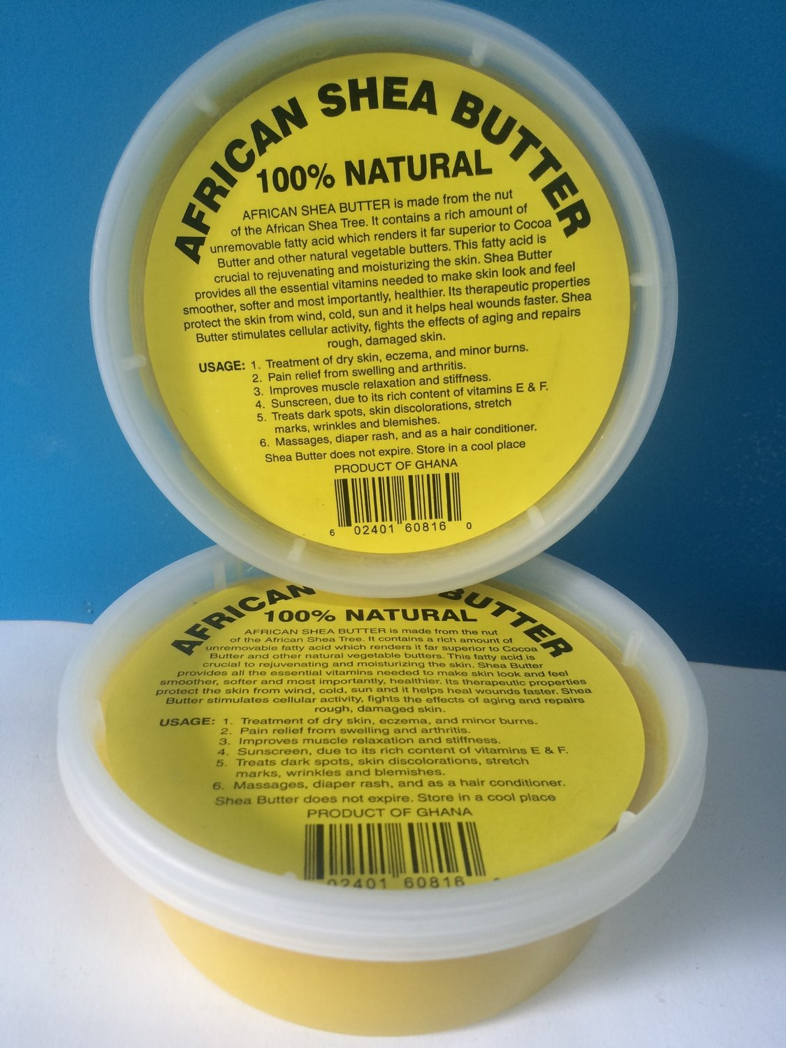 African Shea Butter-Yellow 8 oz.