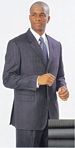 Mens Church And Business Suits-912W-D